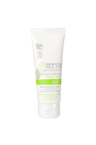 Gesichtsmaske BASIC mit Bio Aloe Vera