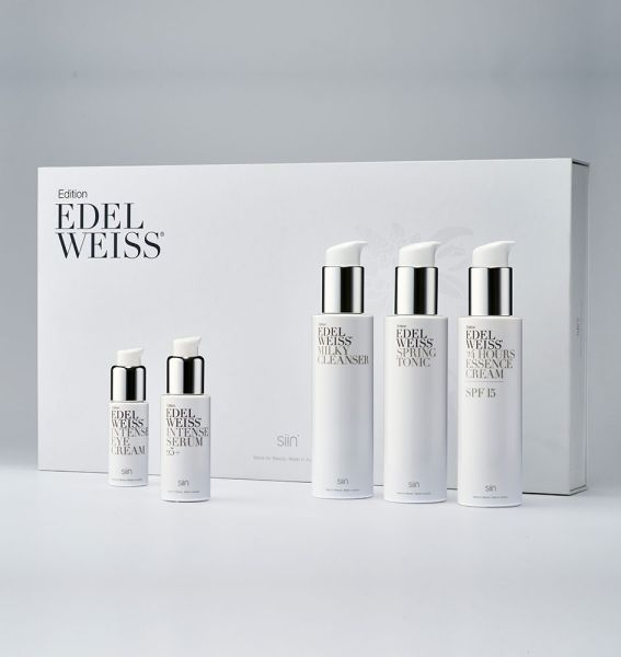 Edition Edelweiss Beauty Set Complete 25+ mit 5 Produkten