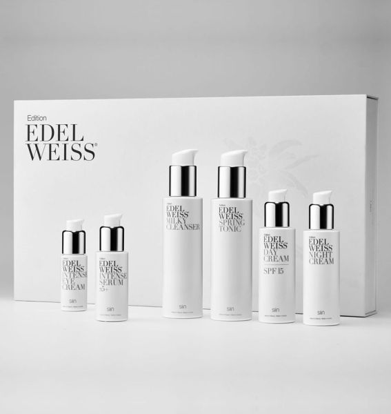 Edition Edelweiss Beauty Set Complete 25+ mit 6 Produkten