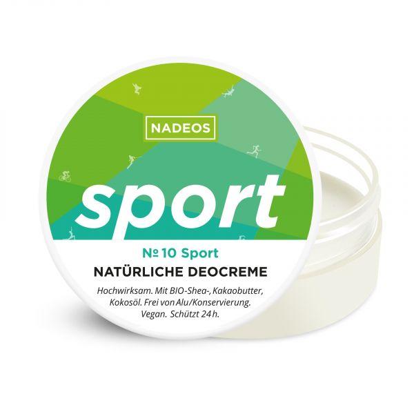 Natürliche Deocreme Sport
