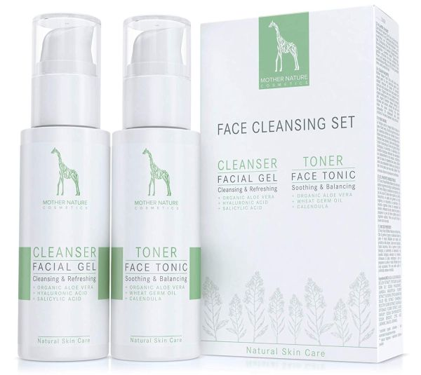 Mother Nature Face Cleansing Set