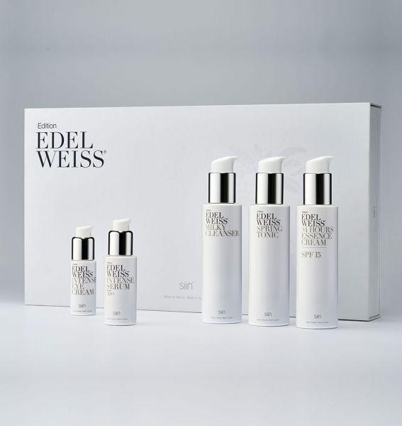 siin Edition Edelweiss Beauty Set Complete 35+ mit 5 Produkten