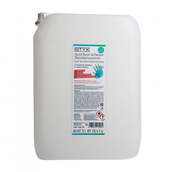STYX Hand- und Flächen Desinfektionsmittel 10l