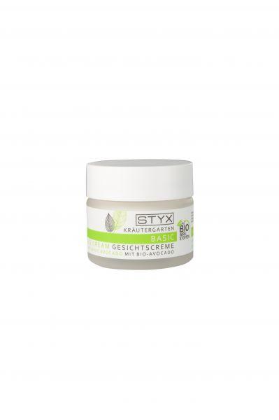 STYX Gesichtscreme BASIC mit Bio Avocado
