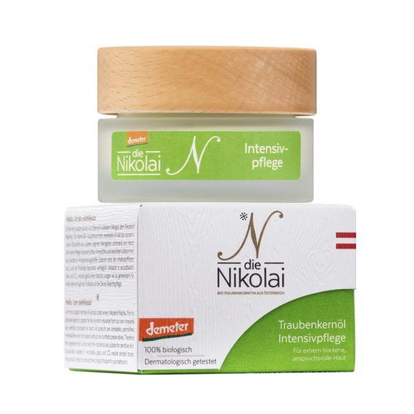 dieNikolai Traubenkernöl Intensivpflege (grün)