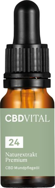 CBD Naturextrakt PREMIUM Öl 24%