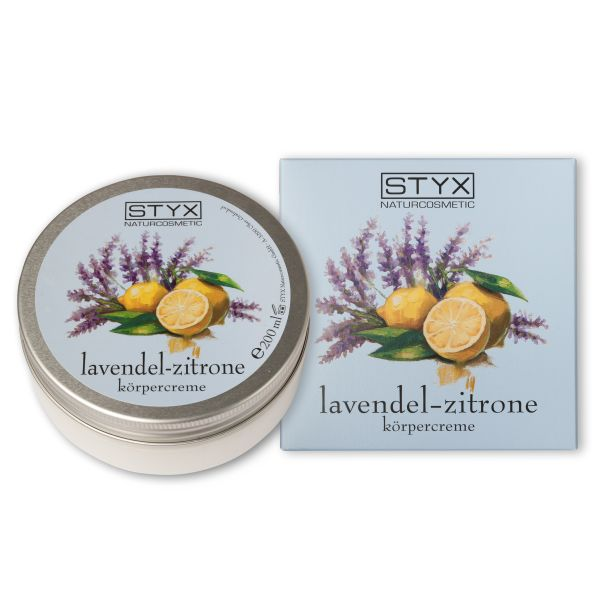 Lavendel Zitrone Körpercreme